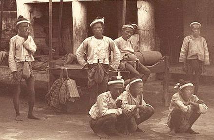 มวยพม่าสมัยโบราณ