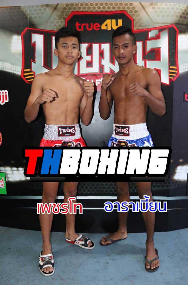 เพชรโท ไฟต์เตอร์มวยไทย vs อาราเบี้ยน ส.สปาร์คยิมส์