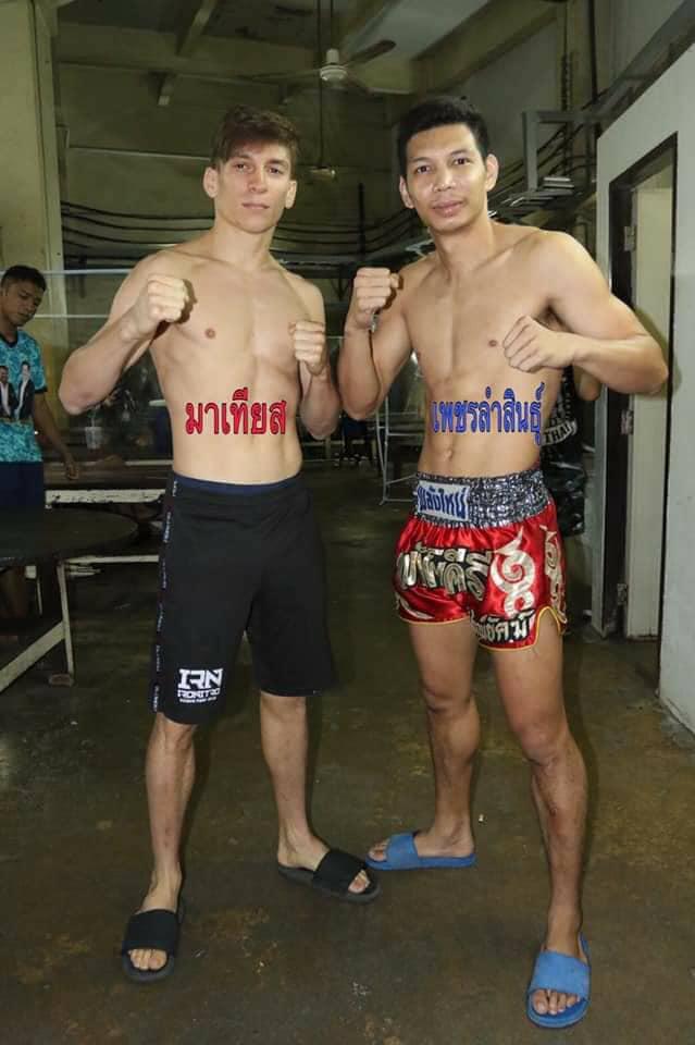 มาเทียส เซเว่นมวยไทย vs เพชรลำสินธุ์ ช.ห้าพยัคฆ์