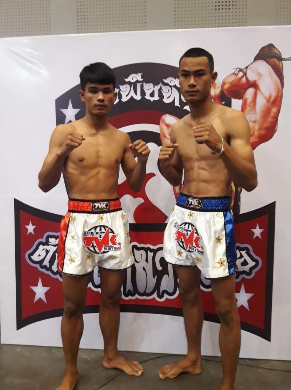 ชาติอนันต์ อภิชาติมวยไทยยิม vs สมจิตรเล็ก ช.แชมป์เปี้ยน