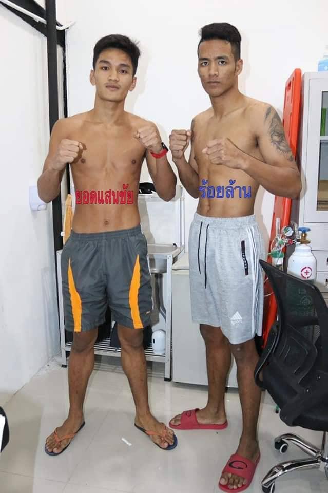 ยอดแสนชัย นายกเอท่าศาลา vs ร้อยล้าน วอริเออมวยไทยแค้มพัทยา