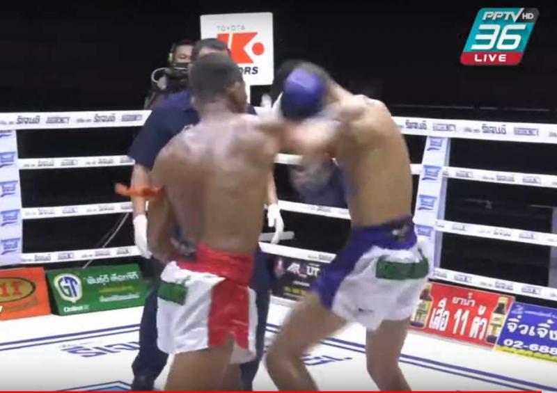 สะแกงาม จิตรเมืองนนท์ vs เพชรสาริต พิมพ์ศิริมวยไทยยิม