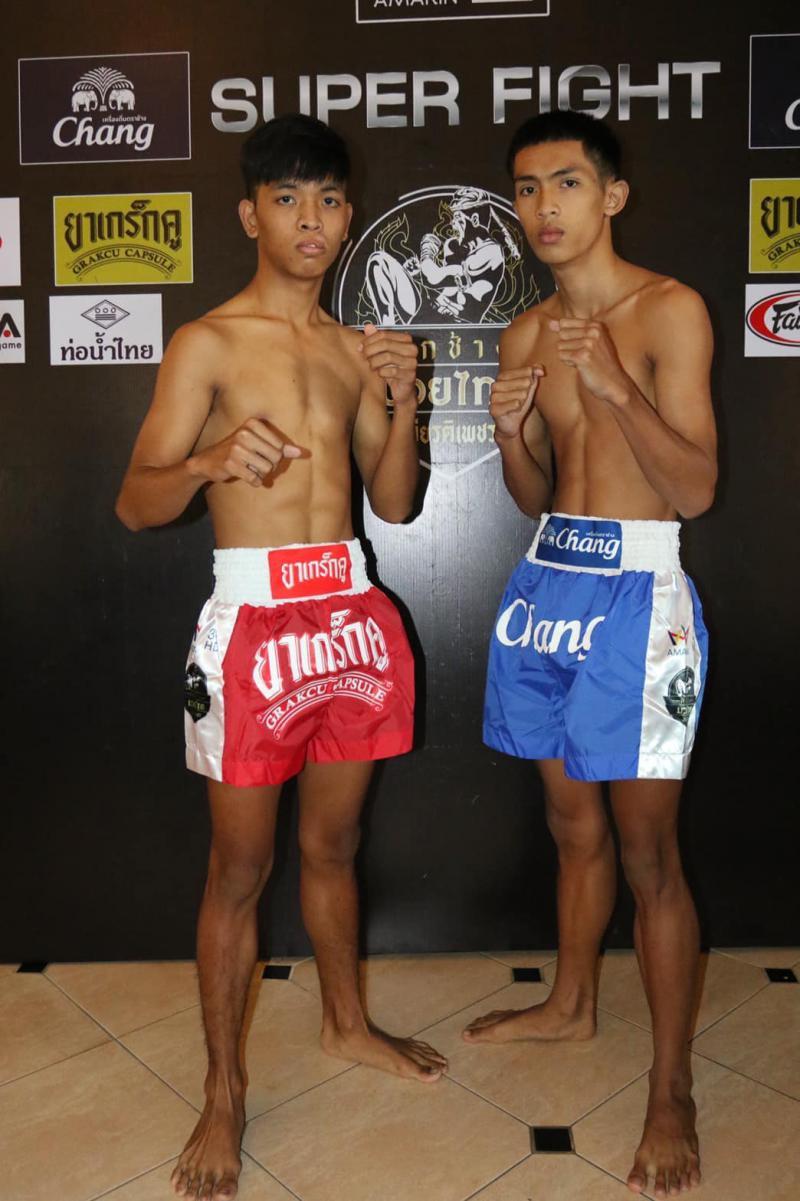ราชเดช ที.เอ็น.มวยไทยยิม vs เพชรน้ำงาม เกียรติพันธมิตร